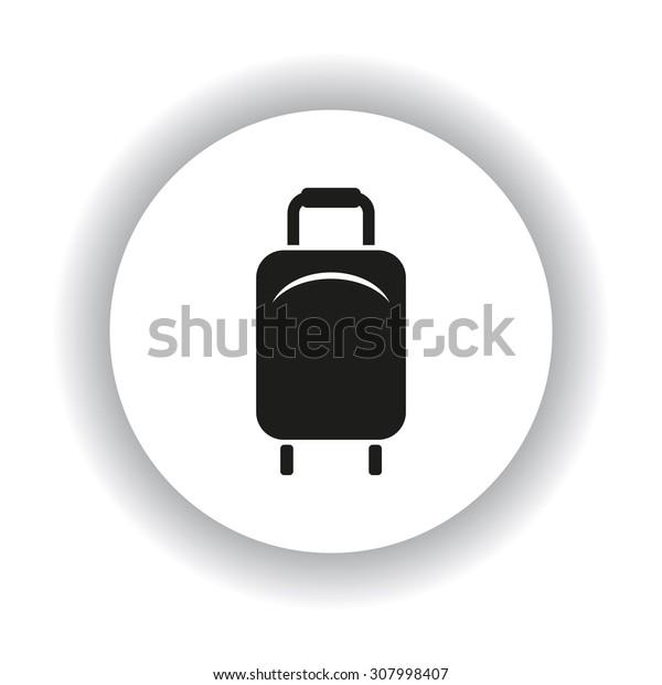 Baggage icon. icon. vector design