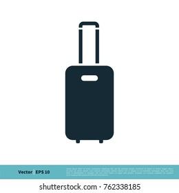 Baggage Icon Vector Logo Template