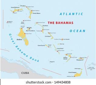 Bahamas Map Images, Stock Photos & Vectors | Shutterstock