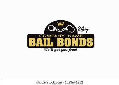 Bail Bonds Company Logo Vector