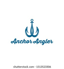 Bait Lure Fish Hook Fishing Angler logo design inspiration
