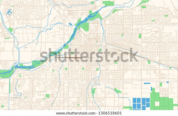 picture relating to Printable California Map known as Bakersfield California Printable Map Excerpt This Inventory