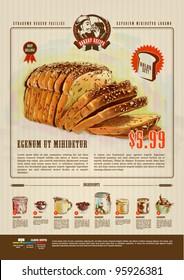 Bakery Advertisement Design Template
