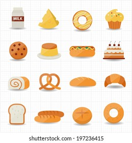 Bakery and Bread Icon