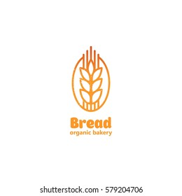Bakery and confectionery logo, label, badge and design