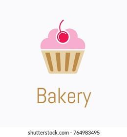 bakery cupcake logo.