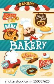 Bakery design template