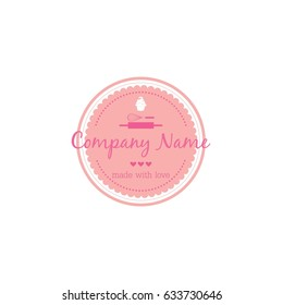 Bakery, Dessert Logo, Sign, Icon Template Vector Design Illustration