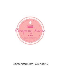 Bakery, Dessert Logo Template Vector Design Illustration