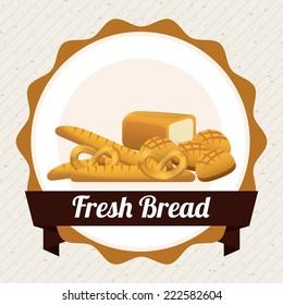 bakery graphic design , vector illustration