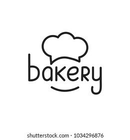 Bakery. Bakery lettering illustration. Bakery label badge emblem