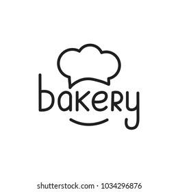 Bakery. Bakery lettering illustration. Bakery label badge emblem