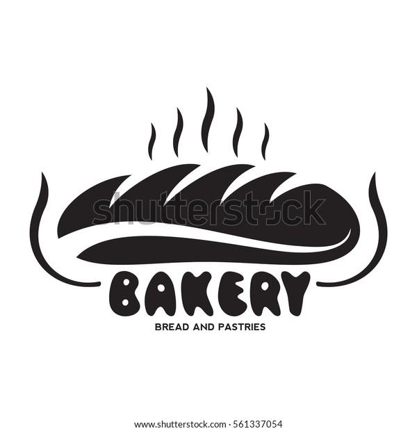 Bakery Logo Emblem Set:  Bakery Logo Templates Baker Grain Bread Stock Vector