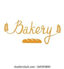 Bakery. Original handwritten. Can be used for flyers, posters and promo. Vector.