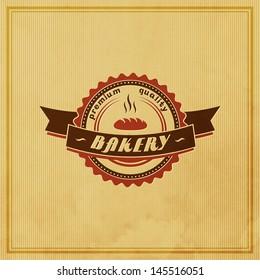 Bakery Retro Label