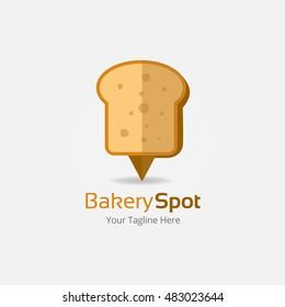 Bakery Spot Logo Template