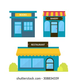 Bakery,Books, Restaurant shop