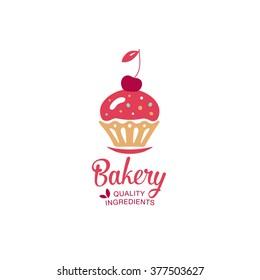 baking logo design template