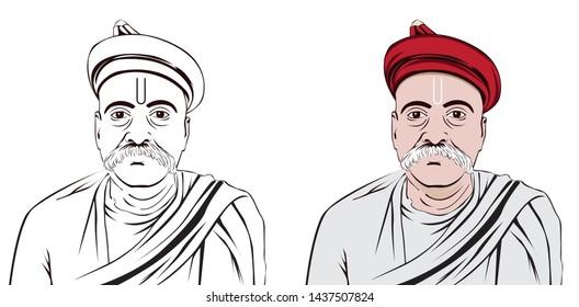 Bal gangadhar tilak (1856-1920 ). was an Indian nationalist, teacher, and an independence activist.