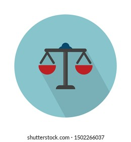 balance Justice falt icon - From web, universal and Miscellaneous Icons set