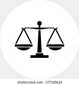 Balance Scales Icon