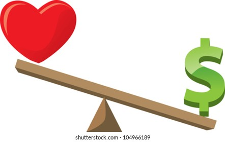 Balancing love or health with money/career