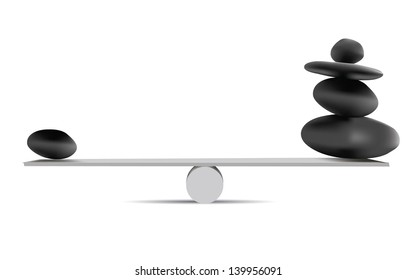 Balancing Stones,vector