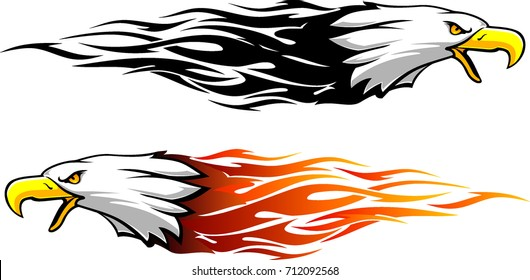 Bald Eagle Flame Set