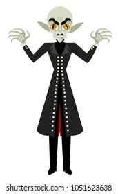 bald evil vampire monster