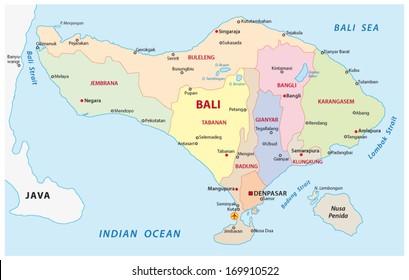 Bali Indonesia Map Images Stock Photos Vectors Shutterstock