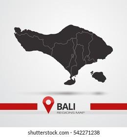 Bali Landkarte Images Stock Photos Vectors Shutterstock