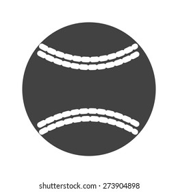 Ball, baseball, softball icon vector image. Can also be used for sports, fitness, recreation. Suitable for web apps, mobile apps and print media.