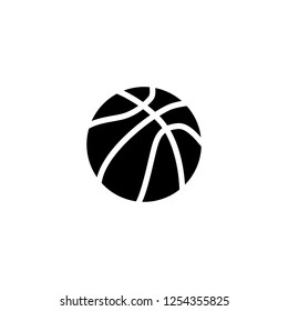 Basketball Icon Basketball Icon Vector Trendy เวกเตอร์สต็อก