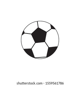 ball design, soccer sport competition game tournement and team theme Vector illustration