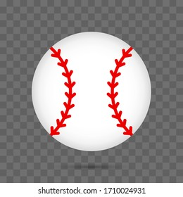 Ball icon. Graphic template. Vector illustration