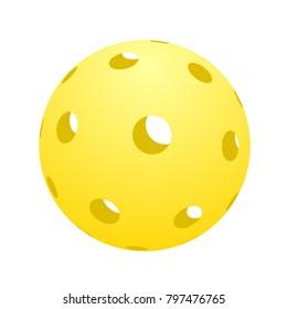ball of pickleball