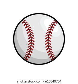 ball to play baseballl icon