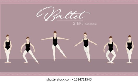 Ballet Assemble Step by Step
