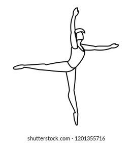 ballet dancer design