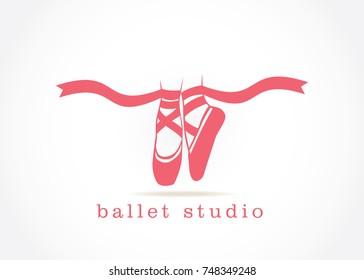 ballet studio logo design