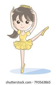 Ballet's cute pose image