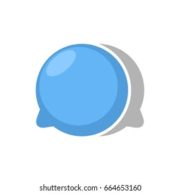 Balloon chat logo design