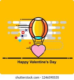 balloon, love, icon, valentines day