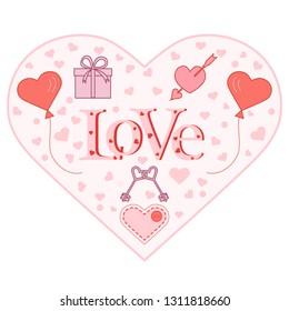Solar Powered Dancing Cupid Love Arrow in hearts