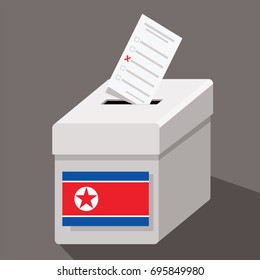 ballot box North Korea