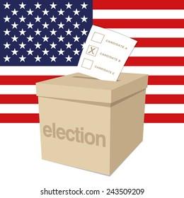 Ballot Box for a US election