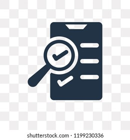 Ballot vector icon isolated on transparent background, Ballot transparency concept can be used web and mobile