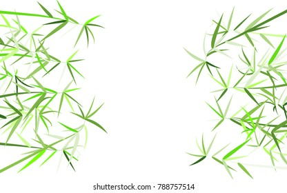 Bamboo. Abstract Pattern. Bamboo Pattern for Postcard, Banner, Wallpaper, Textile, Card, Illustration. Bamboo Background. Tree Texture in Asian Style. Abstract Background. Vector Illustration.