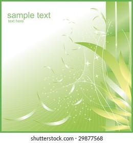 bamboo background - vector illustration