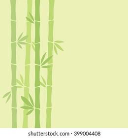 Bamboo background, vector illustration.